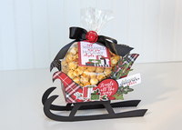Carta Bella Christmas Delivery Sleigh Treat Holder