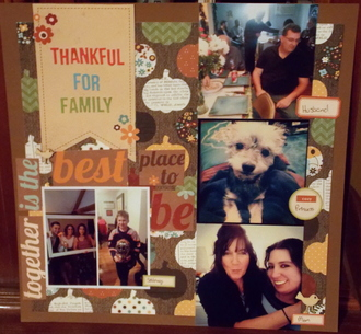 Thankful For Family