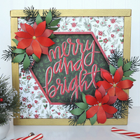 Carta Bella Christmas Delivery Frame