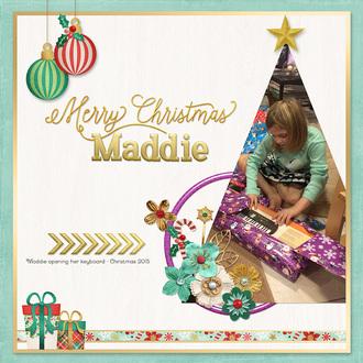 Merry Christmas Maddie