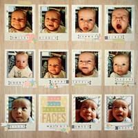 Cute Baby Nathan Faces (Dec Randomness)