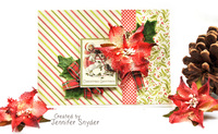 Christmas Card - Petaloo and Authentique