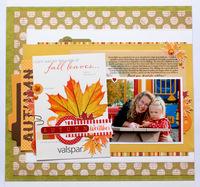 Carta Bella Autumn layout