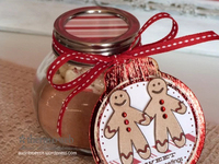 Jar Topper with Decofoil