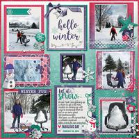 Hello Winter…