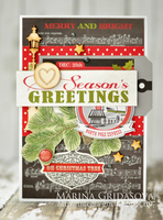 Season's greeetings card by Marina Gridasova