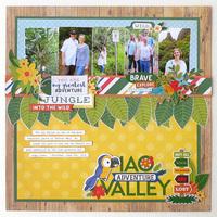 """Echo Park Paper Jungle Safari """"Iao Valley"""""""