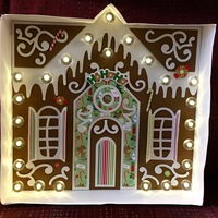 Gingerbread House Marquee