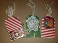 Christmas Mini Album Tags 1