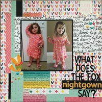 What Does the Fox Nightgown Say?