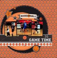 Basketball Game Time
