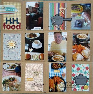 Foodie Grid Page