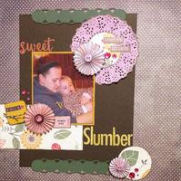Sweet Slumber (Jan 2017 Die Cut and Prompt Challenges)
