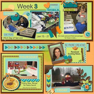 Week 3, Annemarie