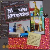 Mouse Memories Feb. Disney challenge example