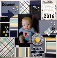 Dawson (Feb 2017 Supply List and Layout Prompt Challenges)