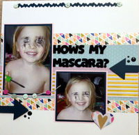 Hows My Mascara? (Feb 2017 3 In A Row and Mood Board Challenges)