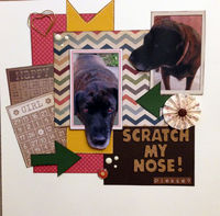 Scratch My Nose! Please? (Jan/Feb Graphic Design and Feb 2017 Manufacturer Chall