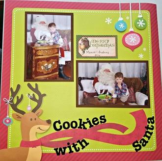 Cookies with Santa 2016