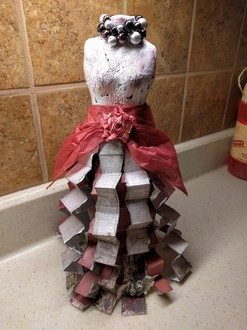 Upcycled mannequin