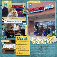 Week 6 of 2013
