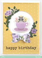 Happy Birthday - Racoon *Pebbles*