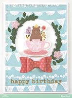 Happy Birthday - Bear *Pebbles*