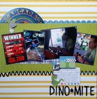 Dino-mite - March 2017 Book Lover's Challenge