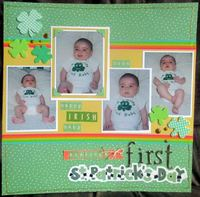 Aisling's First St. Patrick's Day