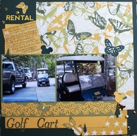 Rental Golf Cart