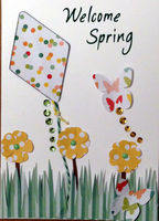 Welcome Spring (March 2017 Card Challenge)