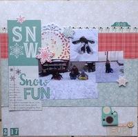 Snow Fun/ BF #129 challenge