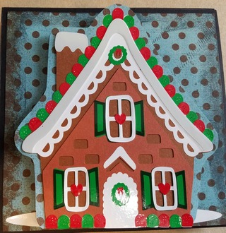 Gingerbread House Section