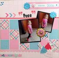 """""""Pose"""" (March 2017 Mood Board and Artsy Craftsy Challenges)"""