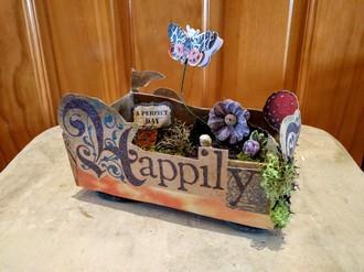 Upcycled gum box