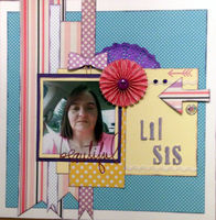 Lil Sis (March 2017 Artsy Craftsy Challenge)