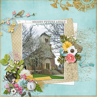 Springtime at the Church