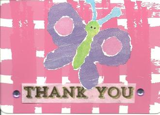 Several Thank You Cards