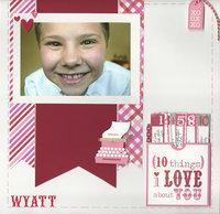 My Valentine Wyatt