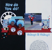 How Do You Do? Thing 1 & Thing 2