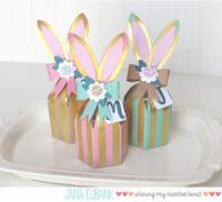 Easter Bunny Favor Boxes