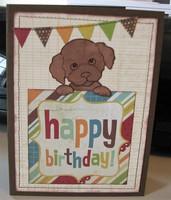 Dog Birthday Card 2017