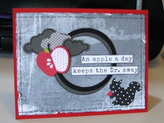 Apple A Day Card