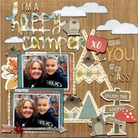 April Mood Board Challenge - I'm a Happy Camper with You in My Class