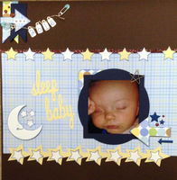 sleep baby (April 2017 Die Cut and Foodie Challenges)