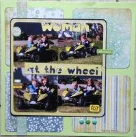 Woman at the Wheel