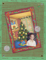 Christmas Card layouts - last of 2000
