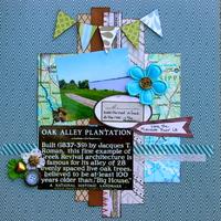Oak Alley Plantation Mississippi view