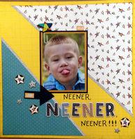 Neener, Neener, Neener!!! (May 2017 Title Challenge)