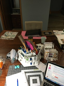 My Desk Before NSD